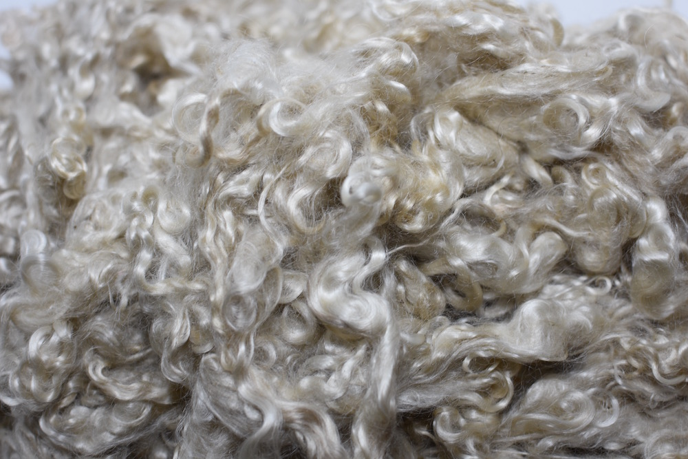 Honey Yearling Mohair