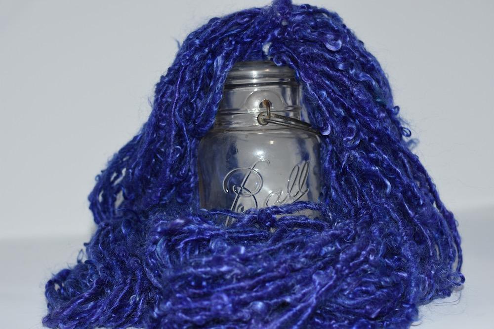 Sapphire Lockspun